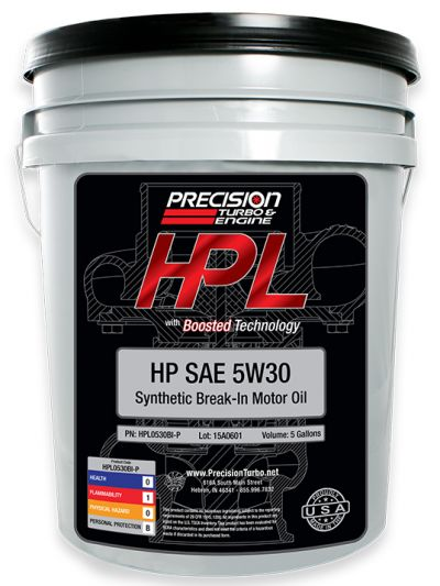 HPL Break-In Oil (Pail -5 Gallons)