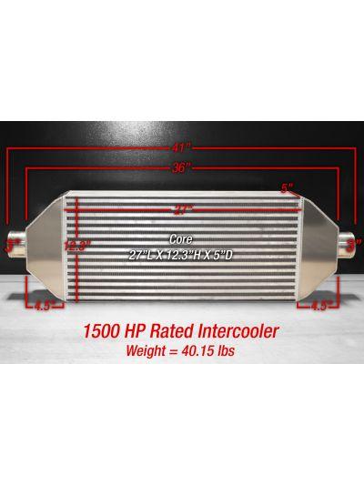 Air-to-Air PT1500 Intercooler