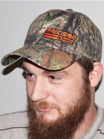 PTE Mossy Oak Camo Adjustable Hat