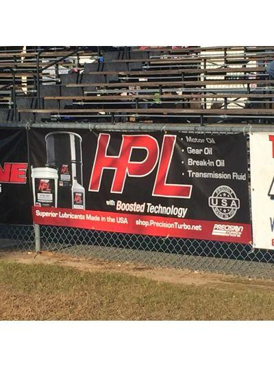 """HPL Race Banner 34"""" x 96"""" Gloss"""