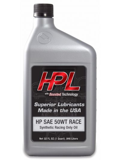 HPL Race-Only Motor Oil (Case-12 Quarts)