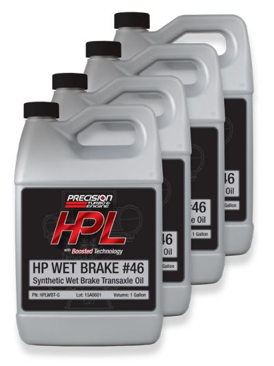 HPL Wet Brake Transaxle Oil (Case- 4 Gallons)
