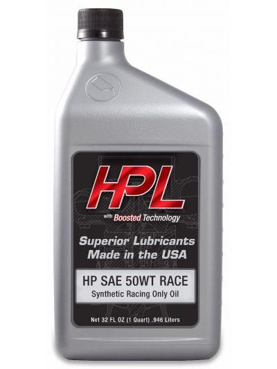 HPL Race-Only Motor Oil (Case-12 Quarts)