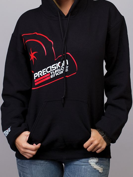 NEW PRECISION TURBO SERVICES ENGINE HOODIE HOODED  ALL SIZES