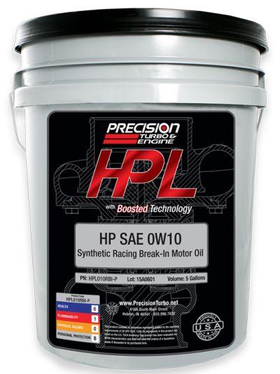 HPL 0W10 Break-In Oil (Pail -5 Gallons)