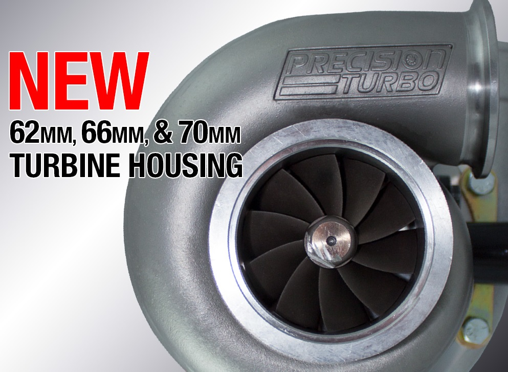 All New Investment Cast 310 Stainless Steel THV5S / 1.05 A/R Turbine Housing Released